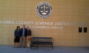 Rosenberg Scholars visit the 315th Juvenile Court