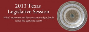 Texas 2013 Legislative Session: Update on the Child Related Bills Reviewed by CCLP