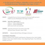 Forum on New Healthcare Law's Health Insurance Marketplace & How to Prepare