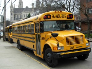 Source: http://commons.wikimedia.org/wiki/File:Yellow_school_buses_Pittsburgh.JPG