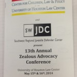 Day 2 of the 13th Annual Zealous Advocacy Conference
