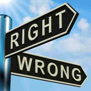 Right-vs.-Wrong