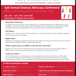 15th Annual Zealous Advocacy Conference